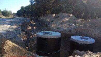 Балабановский лес перерыли для проведения канализационных труб к порту в Корабельном районе | Корабелов.ИНФО image 5
