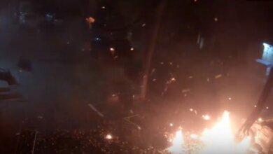 """Опубликовано ВИДЕО момента взрыва во время покушения на """"ляшковца"""" Мосийчука   Корабелов.ИНФО"""