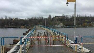 Запрещено движение по Ингульскому пешеходному мосту в Николаеве | Корабелов.ИНФО image 1