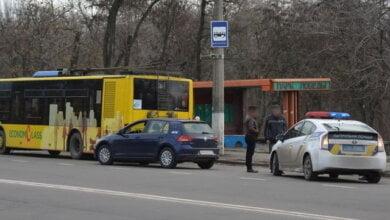 Пьяный водитель на «Фольксвагене» в Николаеве врезался в троллейбус   Корабелов.ИНФО