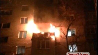 Из-за новогодней гирлянды загорелась квартира в николаевской девятиэтажке   Корабелов.ИНФО