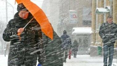 Снег, гололед и штормовой ветер: в Николаеве предупреждают об ухудшении погоды на несколько дней вперед