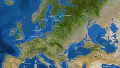 Ученые показали, как будет выглядеть Земля, если весь лед растает — у Николаева тоже шансов нет (Видео)   Корабелов.ИНФО