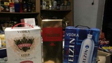 Photo of 450 бутылок «брендового» алкоголя изъяли у предпринимателя Николаевские фискалы
