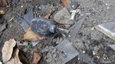 Photo of 2 вибухонебезпечних предмети знайшли у Корабельному районі з початку року