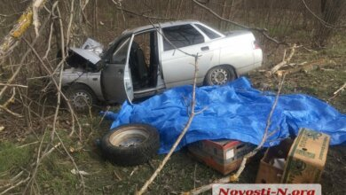 Водитель только успел сказать: «Сердце!» На Николаевщине «десятка» врезалась в дерево - один погибший, двое - в больнице | Корабелов.ИНФО