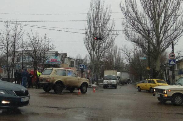 Два ДТП за неделю на одном и том же перекрестке в Корабельном районе (ВИДЕО) | Корабелов.ИНФО image 1