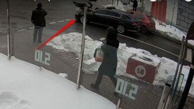 Кортеж Порошенко сбил пенсионера в центре Киева (ВИДЕО) | Корабелов.ИНФО