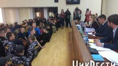 Москаленко досрочно закрыла сессию, на которой активисты требовали объявить недоверие губернатору Савченко   Корабелов.ИНФО