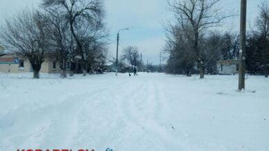 Не всім у Корабельному районі пощастило бачити 1 березня на своїх вулицях снігоприбиральну техніку   Корабелов.ИНФО image 3
