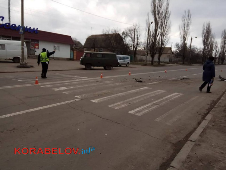 """От удара """"УАЗика"""" в Корабельном районе """"Тойота"""" вылетела в кювет"""