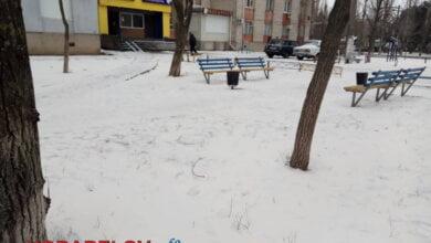 Photo of В Николаеве выпал оранжевый снег (ФОТО)