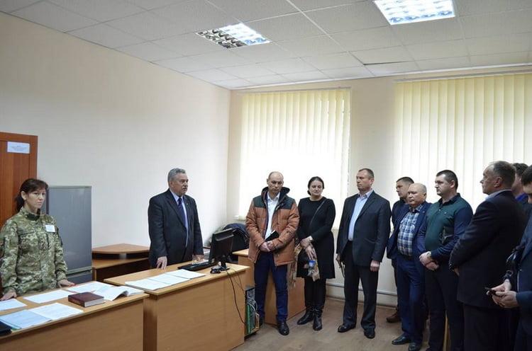 Визначено завдання на весняний призов: у Вітовському РВК зустрілися всі військові комісари Миколаївщини
