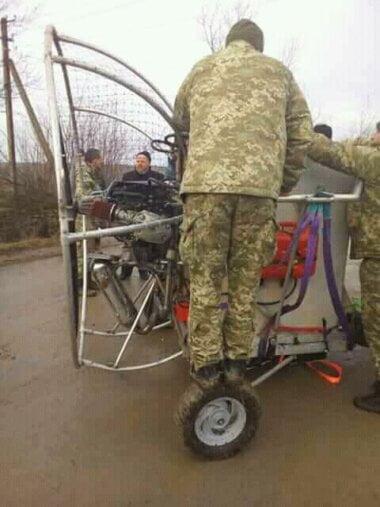 Во Львовской области совершил аварийную посадку самодельный летательный аппарат с контрабандой