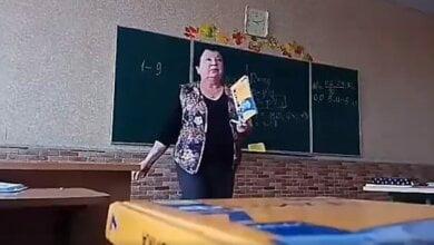 «Я тебя, с*ка, прищучу так, что ты будешь бедный»: на Киевщине учительница во время урока начала оскорблять ученика (ВИДЕО) | Корабелов.ИНФО