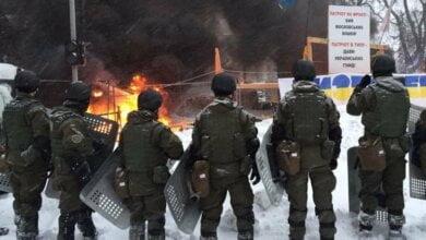 В Киеве полиция зачистила МихоМайдана: есть раненые. ВИДЕО   Корабелов.ИНФО image 1