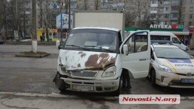 В Николаеве пьяный водитель на «Газели» устроил ДТП с тремя автомобилями | Корабелов.ИНФО image 1