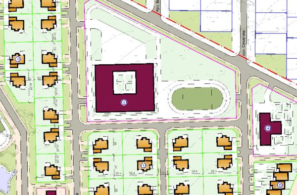 Нові два стадіони, озера, дитсадок і школу хочуть будувати в Балабанівці, недалеко від очисних споруд (карта) | Корабелов.ИНФО image 3