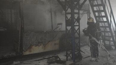 В Николаеве сгорел троллейбус, пострадала водитель | Корабелов.ИНФО image 4