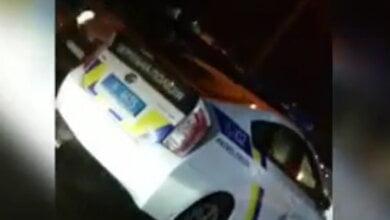 Николаевец в Корабельном районе снял на видео машину с патрульными полицейскими, нарушающими ПДД | Корабелов.ИНФО
