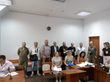 Чергова «пеліпасивська» ділянка лісу «Маяк» судом повернута державі. А Сєнкевич з депутатами - за «пеліпасивщину»