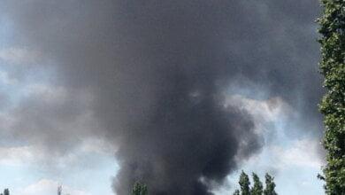 В Корабельном районе Николаева на 50 кв. м горели скаты: едкий дым распространился по округе | Корабелов.ИНФО image 5