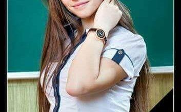 Photo of «Это девочка Даша. Ей 15 лет. Навсегда. Сегодня русские убили ее». На Донбассе от снаряда боевиков погибла школьница