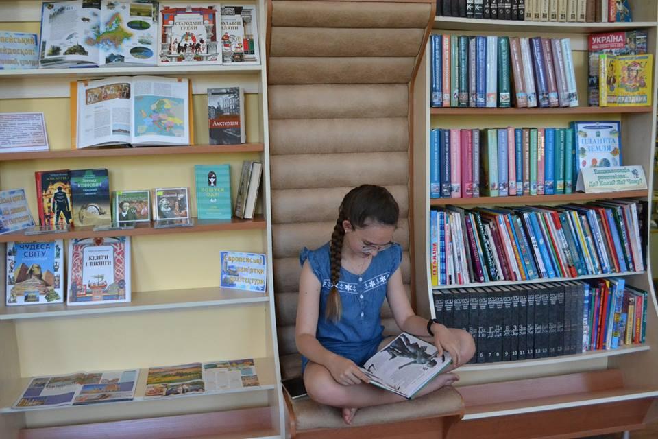 Photo of СМАРТ-дворик відкрився в бібліотеці Корабельного району