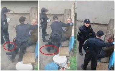 В Сумах уволили полицейских, издевавшихся над мужчиной