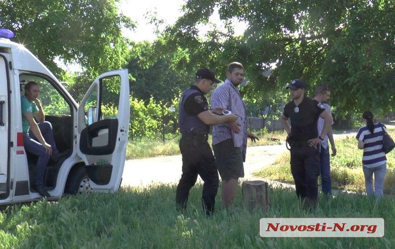 Патрульные в Корабельном районе с погоней задержали авто с наркотиками (видео)