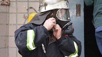 Photo of Во время пожара в 9-этажке в Корабельном районе г. Николаева спасли пенсионеров