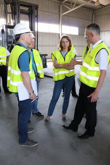 В рамках проекту концесії ДП «СК «Ольвія» з робочим візитом відвідали консультанти з технічних питань
