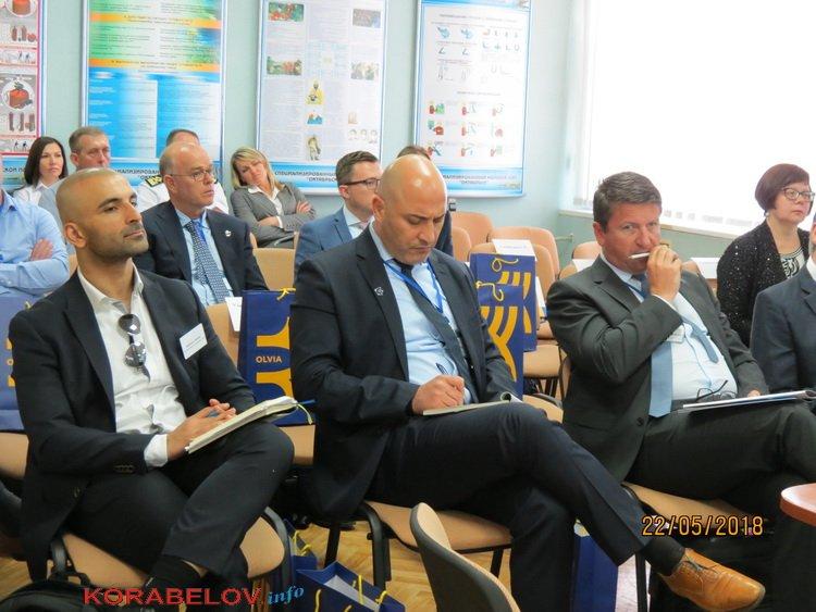 """Визит делегации бизнес-кругов Бельгии и Нидерландов на ГП """"СК """"Ольвия"""" увенчался трехсторонним Меморандумом"""