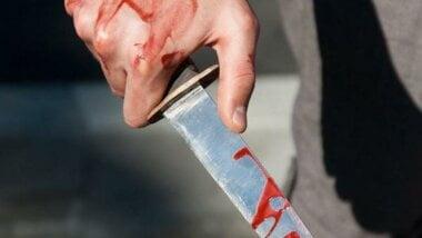 нож - орудие преступления
