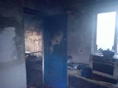 В Витовском районе при пожаре погибла пожилая женщина