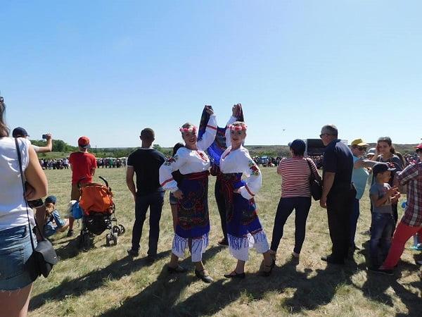 Козаки з Вітовсько-Богоявленської громади взяли участь у фестивалі «Дике поле. Шлях до Європи» на Донеччині