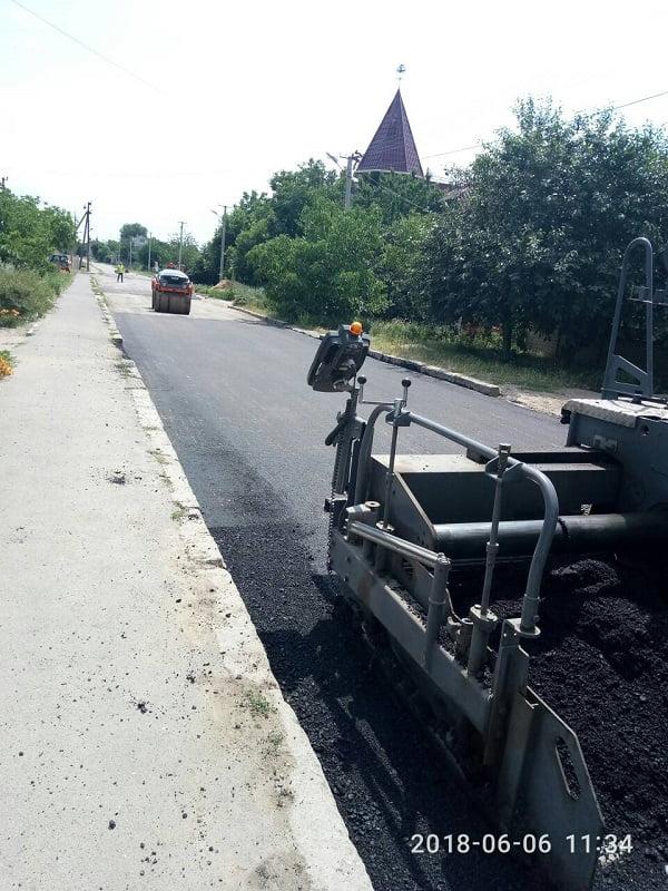 ремонт дороги по ул. Кобзарского