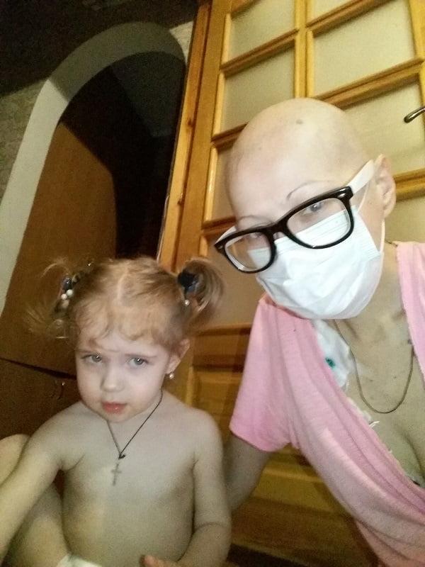 Жительница Корабельного района Николаева просит помочь ей в борьбе со страшной болезнью