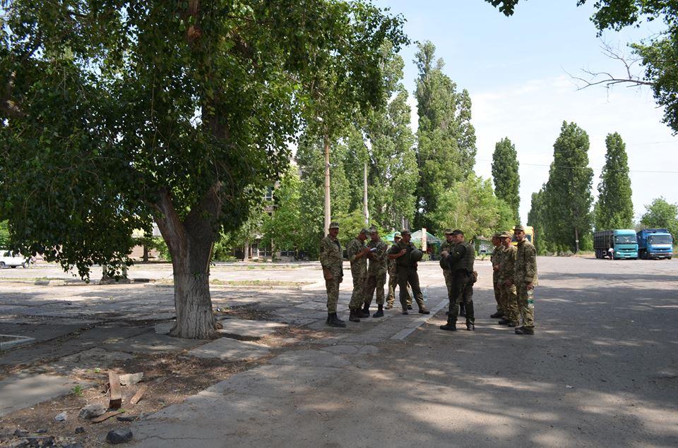Учения отряда территориальной обороны проходят в Корабельном районе г. Николаева