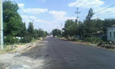 отремонтированная ул. Металлургов