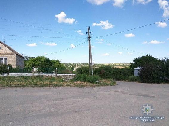 Біля зупинки громадського транспорту у Вітовському районі виявили бойову гранату. Тут же і підірвали (ВІДЕО)