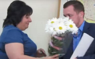 Лилия Таворская награждена почетной грамотой