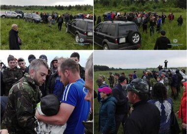 Потерявшегося 4-летнего мальчика в лесу на Прикарпатье всю ночь искали с полицией и местные жители