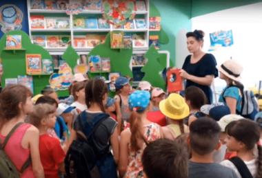 В бібліотеці для дітей Корабельного району стартувала «Алісова літня школа»: на юних читачів чекають подарунки