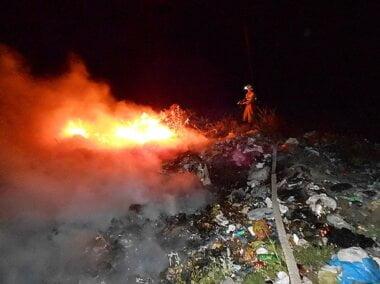 В Николаеве горел Балабановский лес – спасатели считают, что причиной пожара стал поджог