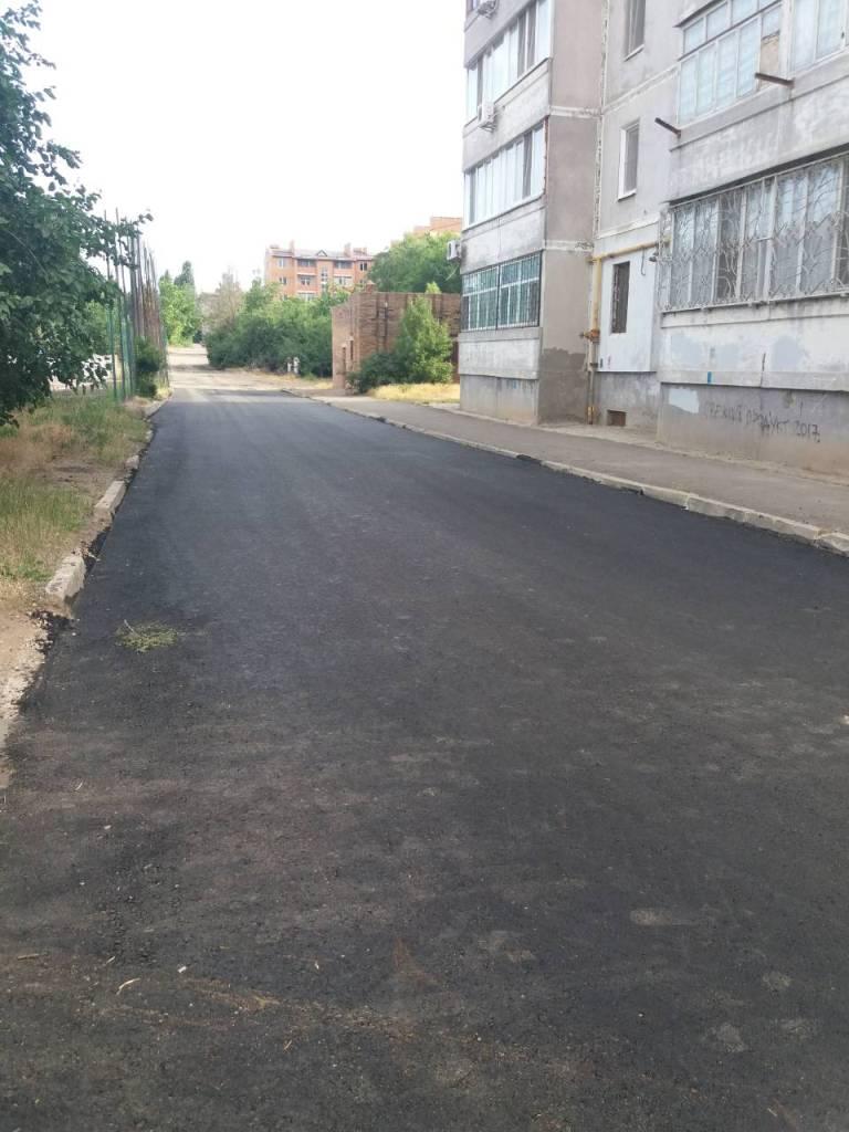 У Корабельному районі продовжується ремонт доріг і тротуарів