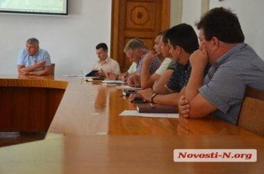 «В режиме секретности»: в мэрии Николаева закрыли для журналистов встречу по GPS-трекерам в маршрутках