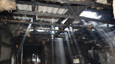 В Корабельном районе целиком сгорел жилой дом | Корабелов.ИНФО