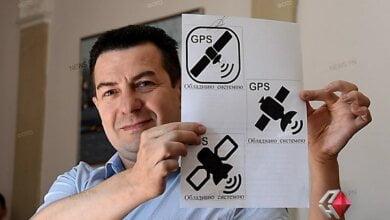 На николаевских «маршрутках» должны быть специальные наклейки, указывающие на наличие GPS-трекеров, – мэрия | Корабелов.ИНФО