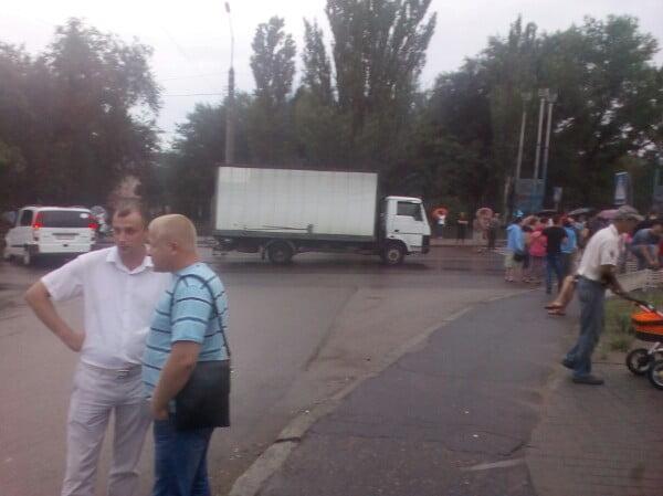 перекрыты ул. Самойловича и пр. Богоявленский